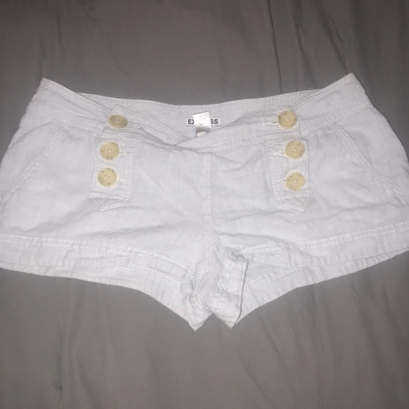 Express Pants - Light blue express shorts